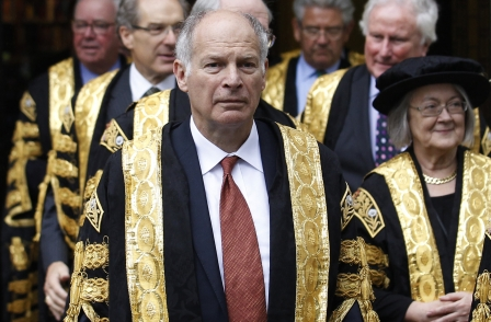Breakfast with Lord Neuberger